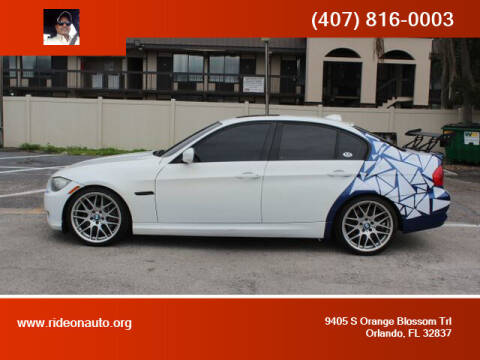 2011 BMW 3 Series for sale at Ride On Auto in Orlando FL