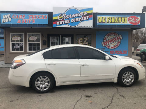 2012 Nissan Altima for sale at Claremore Motor Company in Claremore OK