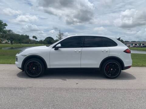 2014 Porsche Cayenne for sale at Premier Auto Group of South Florida in Wellington FL