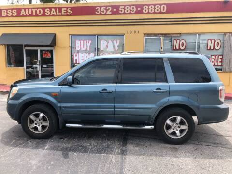 2006 Honda Pilot for sale at BSS AUTO SALES INC in Eustis FL