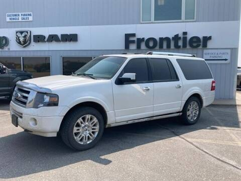 2012 Ford Expedition EL for sale at Frontier Motors Automotive, Inc. in Winner SD
