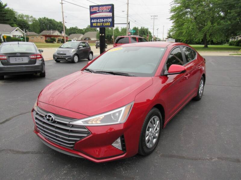 2020 Hyundai Elantra for sale at Lake County Auto Sales in Painesville OH