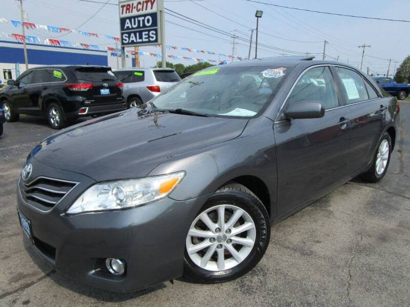 2011 Toyota Camry for sale at TRI CITY AUTO SALES LLC in Menasha WI