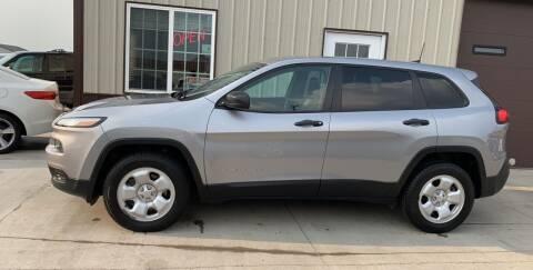 2017 Jeep Cherokee for sale at Dakota Auto Inc. in Dakota City NE