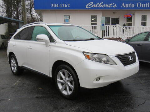 2012 Lexus RX 350 for sale at Colbert's Auto Outlet in Hickory NC
