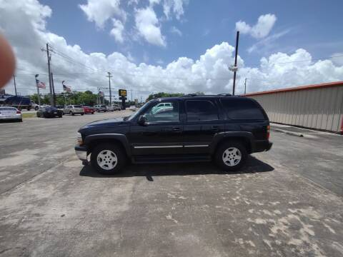 2006 Chevrolet Tahoe for sale at BIG 7 USED CARS INC in League City TX