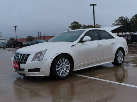 2012 Cadillac CTS for sale at Ron Carter  Clear Lake Used Cars in Houston TX