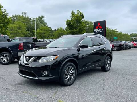 2016 Nissan Rogue for sale at Midstate Auto Group in Auburn MA