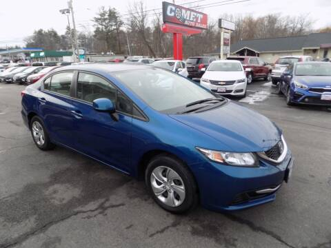 2013 Honda Civic for sale at Comet Auto Sales in Manchester NH