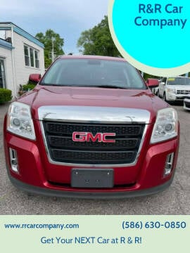 2013 GMC Terrain for sale at R&R Car Company in Mount Clemens MI