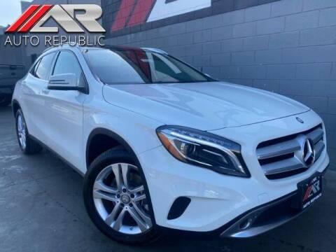 2015 Mercedes-Benz GLA for sale at Auto Republic Fullerton in Fullerton CA