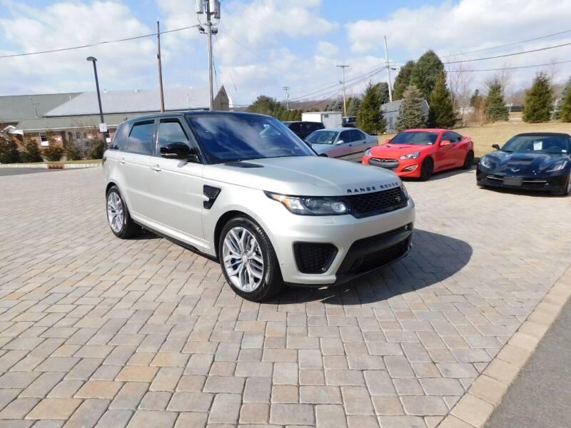 2017 Land Rover Range Rover Sport for sale at Shedlock Motor Cars LLC in Warren NJ