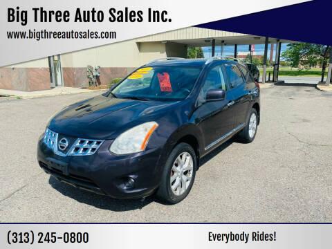 2011 Nissan Rogue for sale at Big Three Auto Sales Inc. in Detroit MI