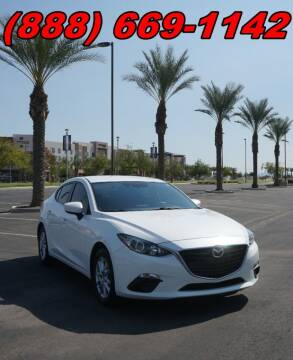 2016 Mazda MAZDA3 for sale at AZautorv.com in Mesa AZ