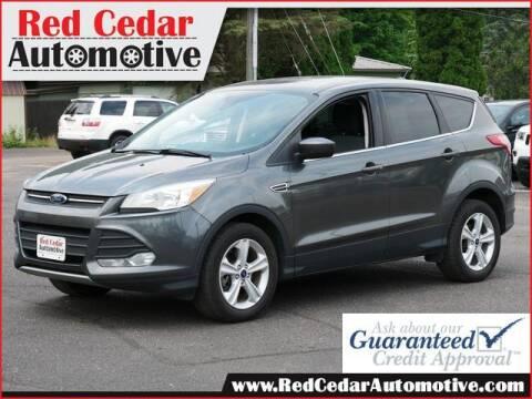 2015 Ford Escape for sale at Red Cedar Automotive in Menomonie WI