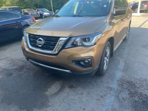 2017 Nissan Pathfinder for sale at Right Place Auto Sales in Indianapolis IN