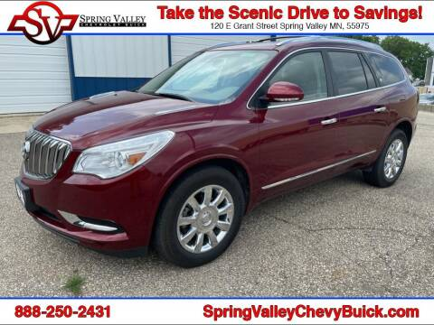 2015 Buick Enclave for sale at Spring Valley Chevrolet Buick in Spring Valley MN