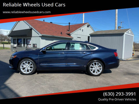 2017 Chevrolet Impala for sale at Reliable Wheels Used Cars in West Chicago IL