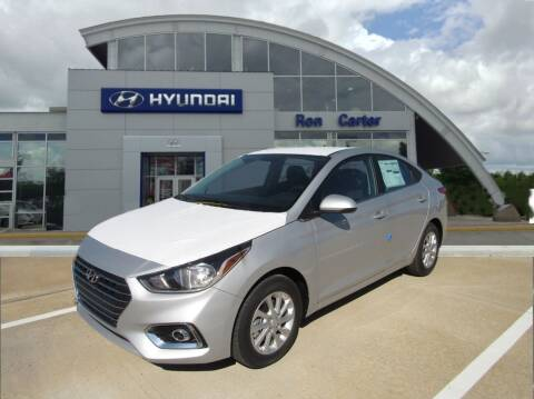 2021 Hyundai Accent for sale at Ron Carter  Clear Lake Used Cars in Houston TX