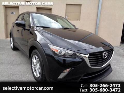 2016 Mazda CX-3 for sale at Selective Motor Cars in Miami FL