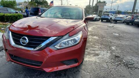 2017 Nissan Altima for sale at YOUR BEST DRIVE in Oakland Park FL