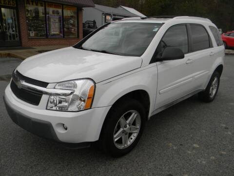 2005 Chevrolet Equinox for sale at A C Auto Sales in Elkton MD