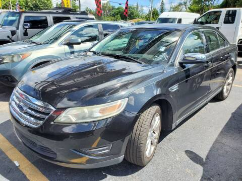 2010 Ford Taurus for sale at America Auto Wholesale Inc in Miami FL