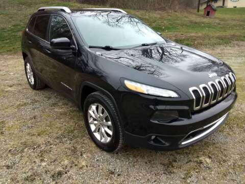 2015 Jeep Cherokee for sale at Martin Auto Sales in West Alexander PA