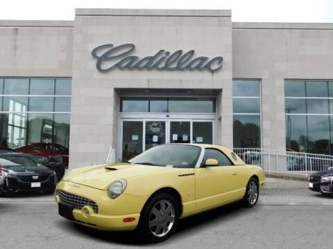 2002 Ford Thunderbird for sale at Radley Cadillac in Fredericksburg VA