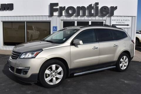 2016 Chevrolet Traverse for sale at Frontier Motors Automotive, Inc. in Winner SD