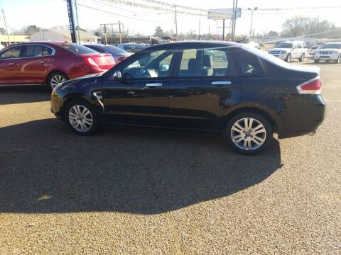 2008 Ford Focus for sale at Frontline Auto Sales in Martin TN