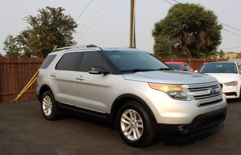 2015 Ford Explorer for sale at Northwest Premier Auto Sales in West Richland WA