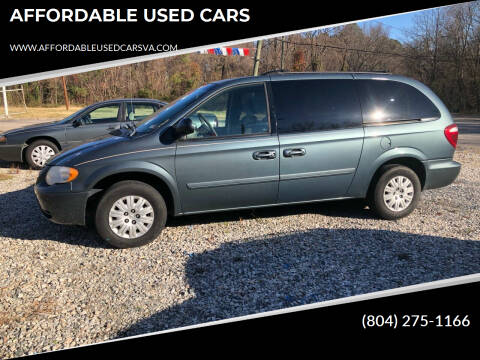 2006 Chrysler Town and Country for sale at AFFORDABLE USED CARS in Richmond VA