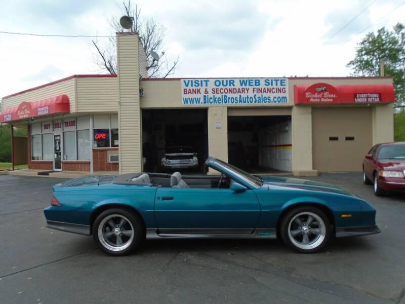 1992 Chevrolet Camaro for sale at Bickel Bros Auto Sales, Inc in Louisville KY