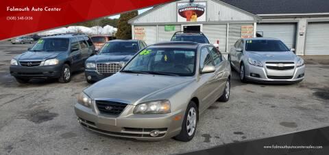 2005 Hyundai Elantra for sale at Falmouth Auto Center in East Falmouth MA