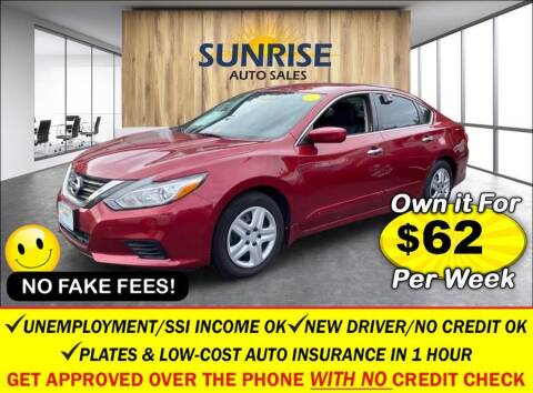 2017 Nissan Altima for sale at AUTOFYND in Elmont NY