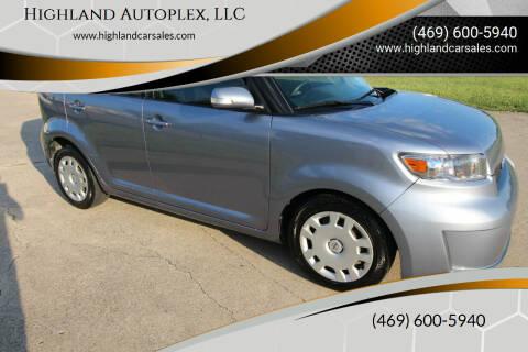 2009 Scion xB for sale at Highland Autoplex, LLC in Dallas TX