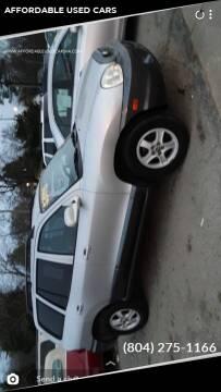 2004 Hyundai Santa Fe for sale at AFFORDABLE USED CARS in Richmond VA