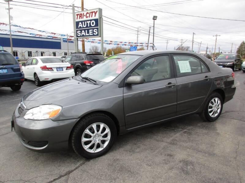 2007 Toyota Corolla for sale at TRI CITY AUTO SALES LLC in Menasha WI