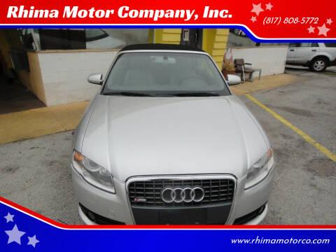 2009 Audi A4 for sale at Rhima Motor Company, Inc. in Haltom City TX