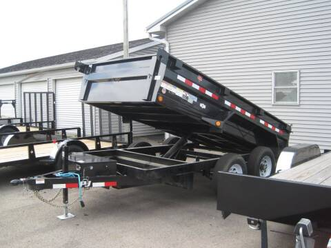 2020 PJ 72 IN X 12 FT DUMP TRAILER for sale at G T AUTO PLAZA Inc in Pearl City IL