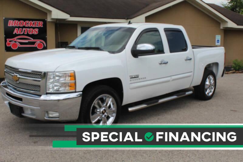 2013 Chevrolet Silverado 1500 for sale at Brocker Autos in Humble TX