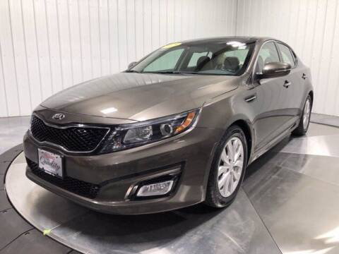 2015 Kia Optima for sale at HILAND TOYOTA in Moline IL