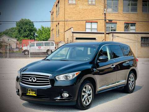 2013 Infiniti JX35 for sale at ARCH AUTO SALES in Saint Louis MO
