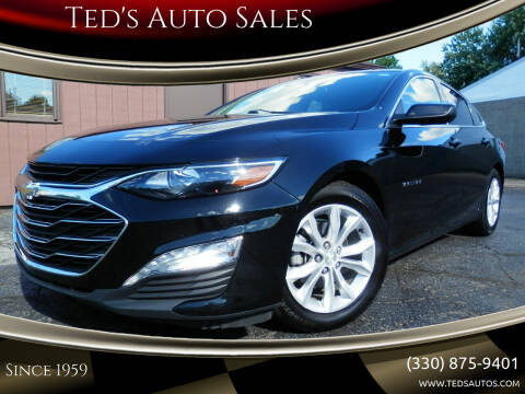 2019 Chevrolet Malibu for sale at Ted's Auto Sales in Louisville OH
