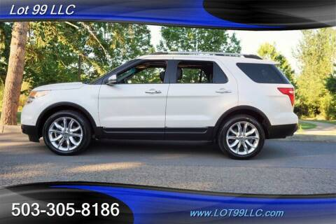 2011 Ford Explorer for sale at LOT 99 LLC in Milwaukie OR