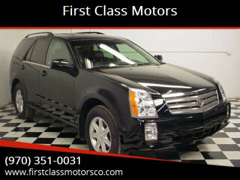 2005 Cadillac SRX for sale at First Class Motors in Greeley CO