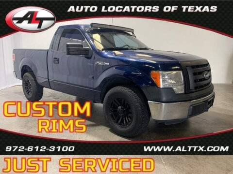 2011 Ford F-150 for sale at AUTO LOCATORS OF TEXAS in Plano TX