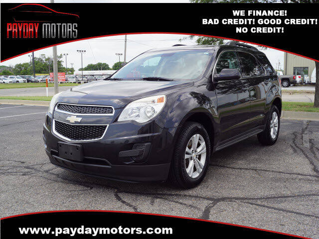 2013 Chevrolet Equinox for sale at Payday Motors in Wichita KS