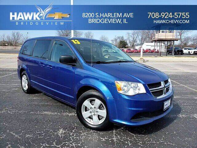 2013 Dodge Grand Caravan for sale at Hawk Chevrolet of Bridgeview in Bridgeview IL